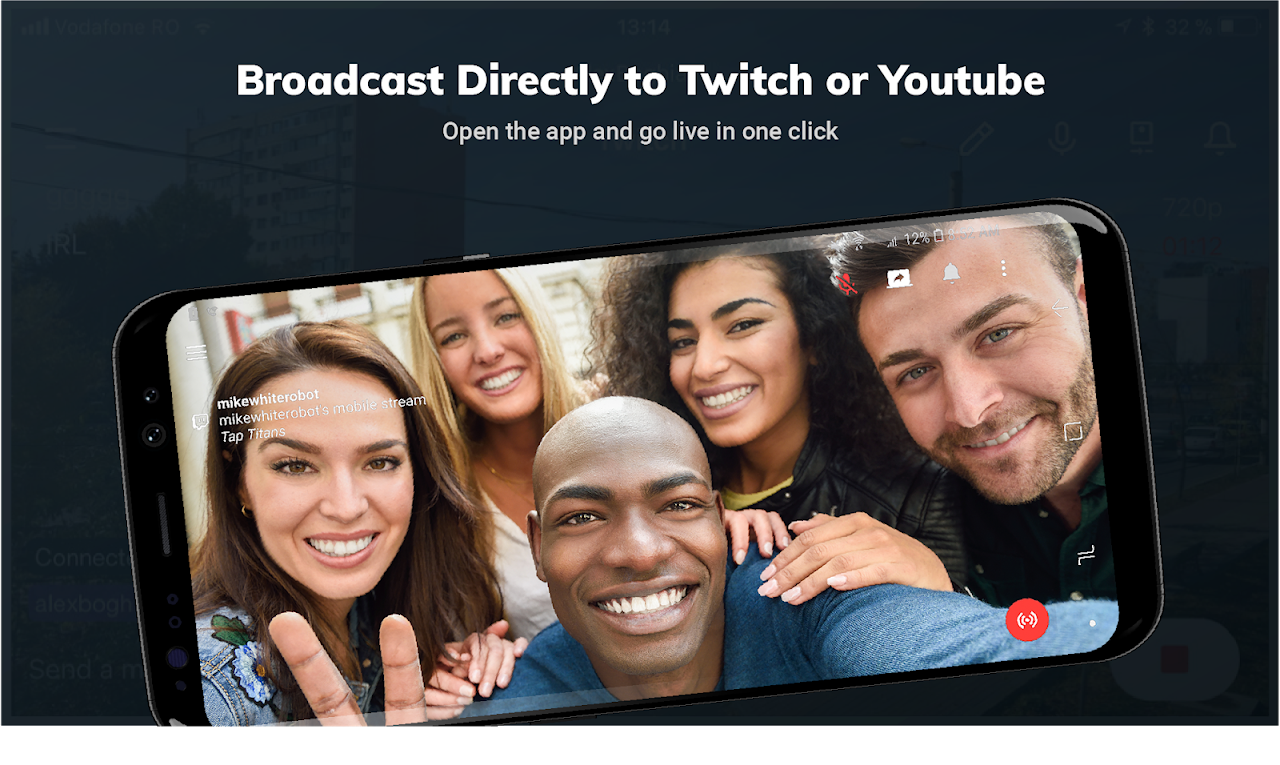 Streamlabs - Stream Live to Twitch and Youtube screenshot 1