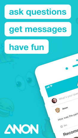 Anon - Ask Friends 1 1 Download APK for Android - Aptoide