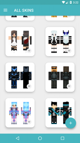 Hd Bdcraft Skins - Cool Usable Minecraft Skins Clipart (#1433075 ... | 500x281