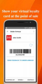 VirtualCards-Loyalty Cards & Coupons Wallet screenshot 5