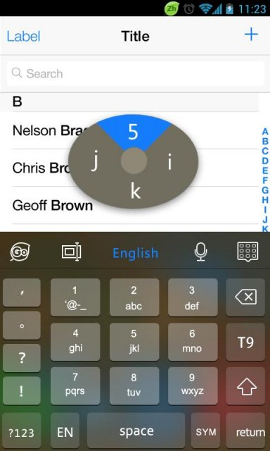 iphone keyboard apk go keyboard iphone ios 7 black apk for android 5837