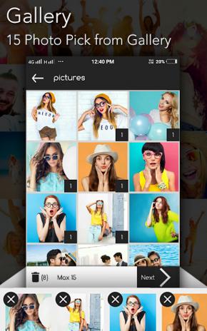 Photo Collage : Scrapbook & Mirror : Shape Maker 1 0