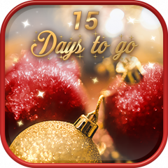 beautiful christmas countdown live wallpaper icon