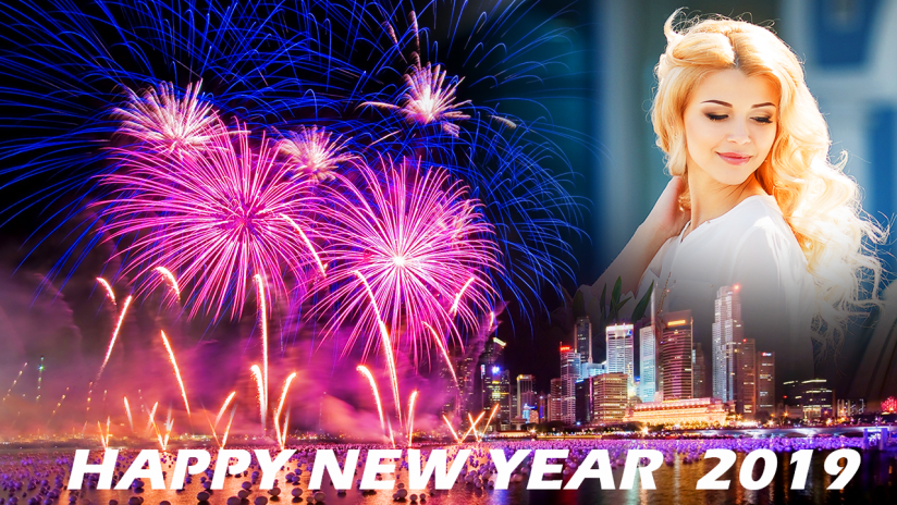 Happy New Year Photo Frame 2019 Photo Editor 18 Download Apk For