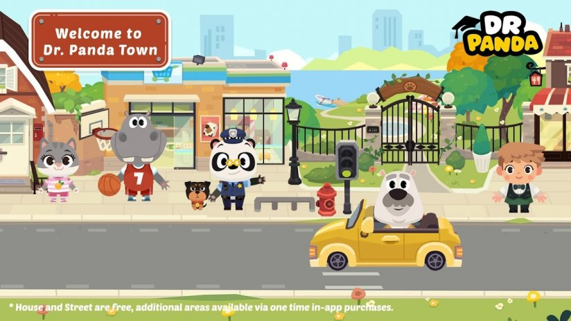 Dr  Panda Stadt 2 6 1 Laden Sie APK für Android herunter