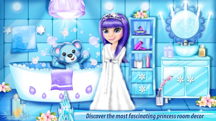 Eisschloss Dekoration Spiele 5 0 Laden Sie Apk Fur Android Herunter
