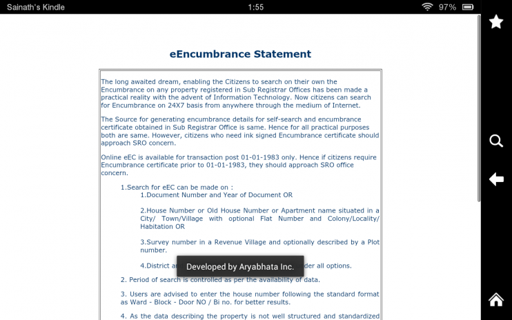 Encumbrance Certificate 1.1 Download APK for Android - Aptoide