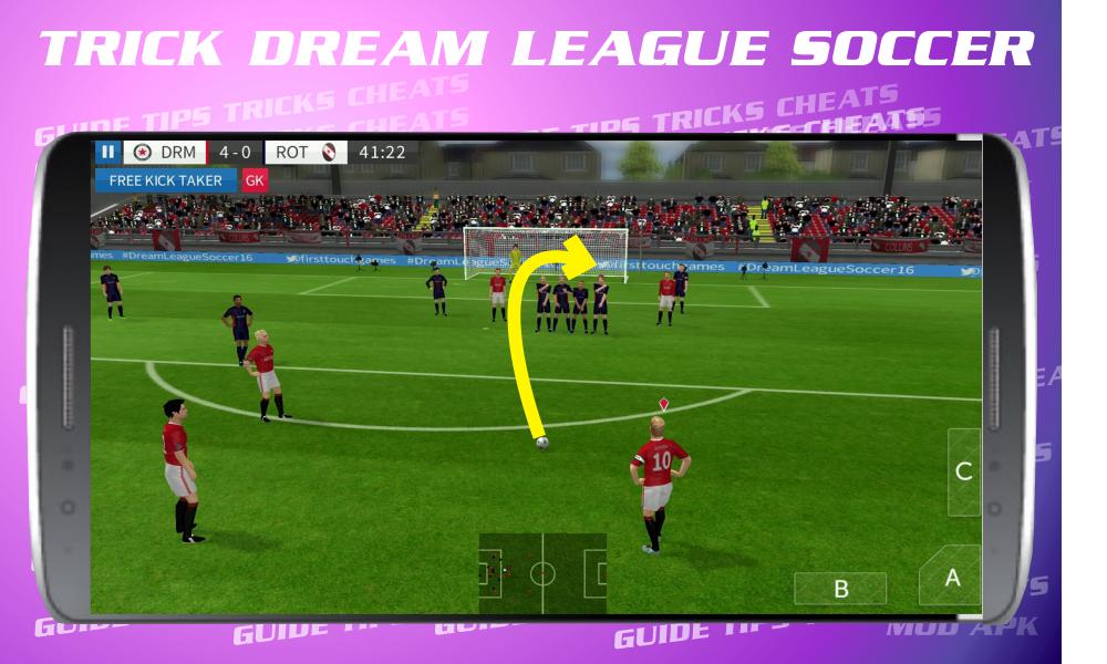 Cheats for Dream League Soccer 2017 screenshot 1