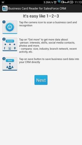 Businesscard reader salesforce 11120 baixar apk para android aptoide businesscard reader salesforce captura de tela 15 reheart Gallery