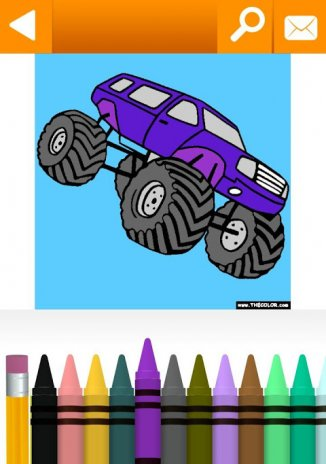 Vehicles, Cars, Trucks Coloring by TheColor.com1.3 tải APK dành cho ...