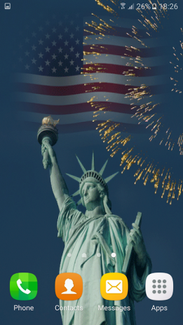 Fourth Of July Live Wallpapers Screenshot 2