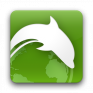 pictogramă dolphin browser