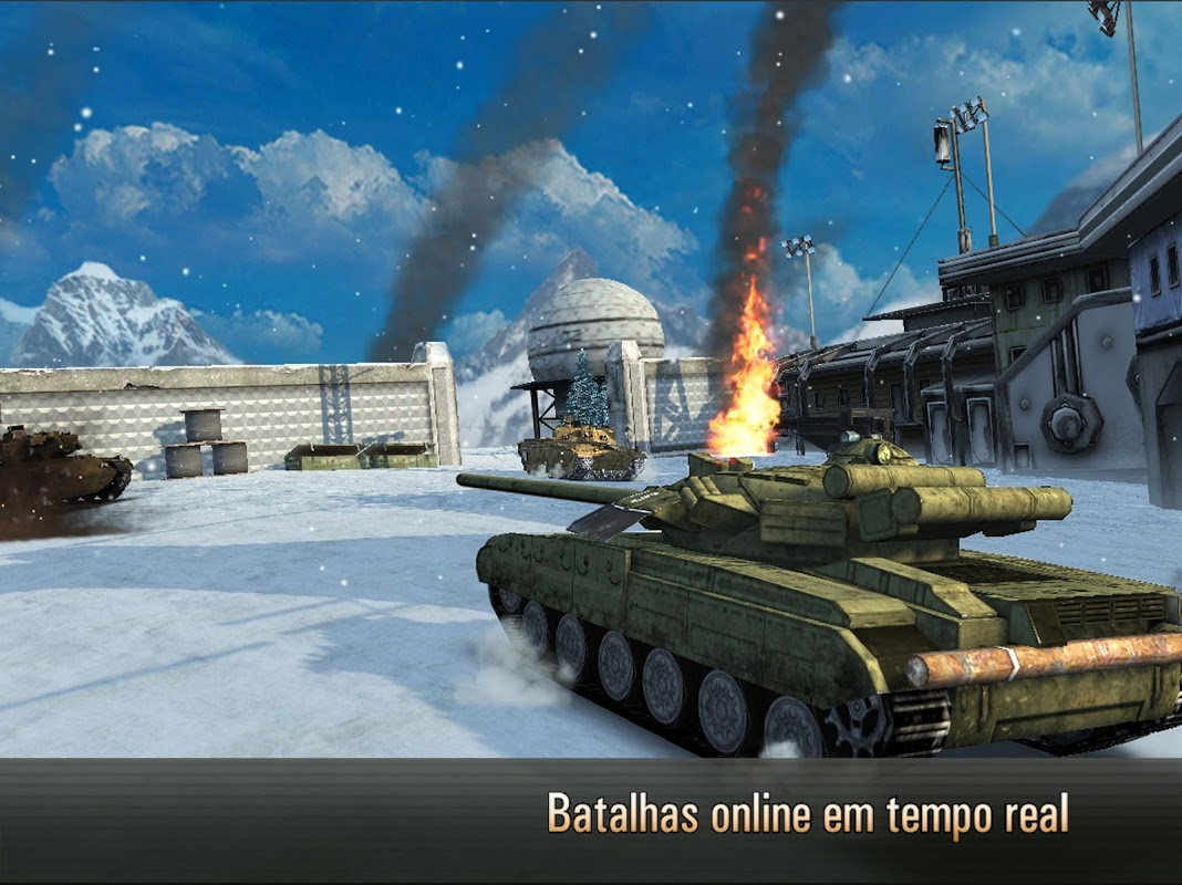 Armada: Modern Tanks - Melhores Jogos Multiplayer screenshot 1
