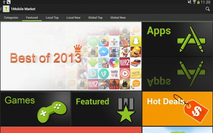 1mobile market android download apk