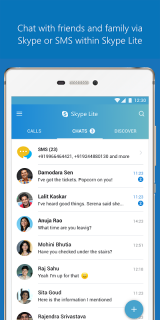 Skype Lite - Free Video Call & Chat (Unreleased) screenshot 1