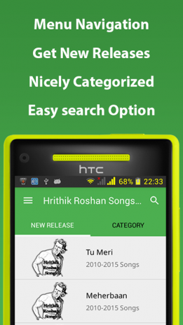Hrithik Roshan Songs Hindi 1 0 Download APK for Android