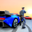 Crazy Cop Simulator Car Stunts Races-Gangster Game
