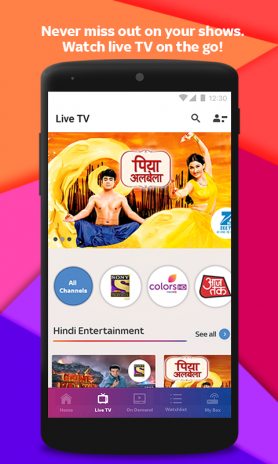 Tata Sky Mobile- Live TV, Movies, Sports, Recharge 9 6 Download APK