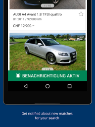 AutoScout24 Switzerland – Find your new car screenshot 2