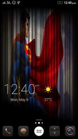Live Wallpaper Super Heroes 1 Screenshot