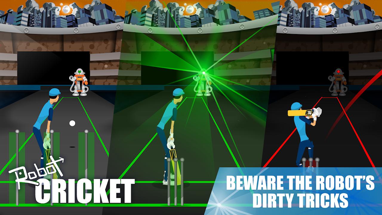 Robot Cricket screenshot 2