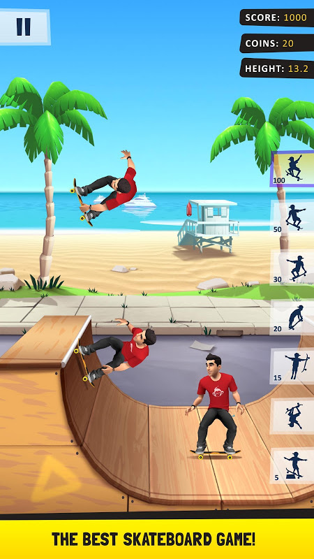 Flip Skater screenshot 1