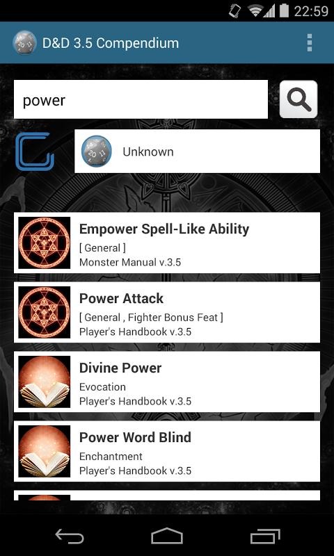 d d 3 5 compendium 2 3 download apk for android aptoide rh d d 3 5 compendium en aptoide com DD Monster Manual 3.5 Data Sheets DD Monster Manual
