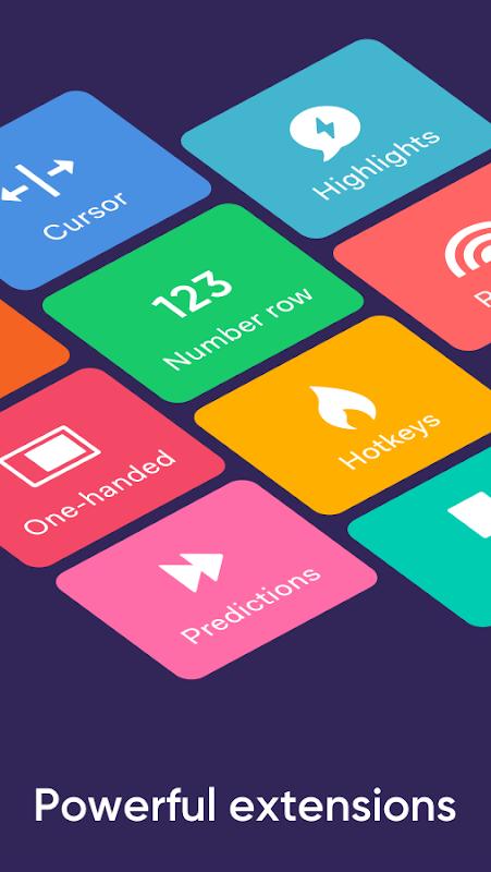Fleksy: Fast Keyboard + Stickers, GIFs & Emojis screenshot 1