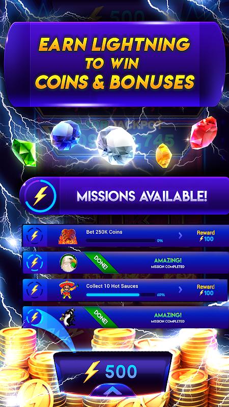 Caça-níqueis Lightning Link Casino screenshot 1