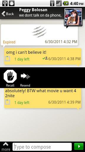 TigerText Free Private Texting screenshot 3
