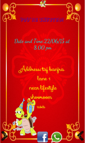 Birthday invitation card maker 10011 download apk for android birthday invitation card maker screenshot 9 stopboris Images