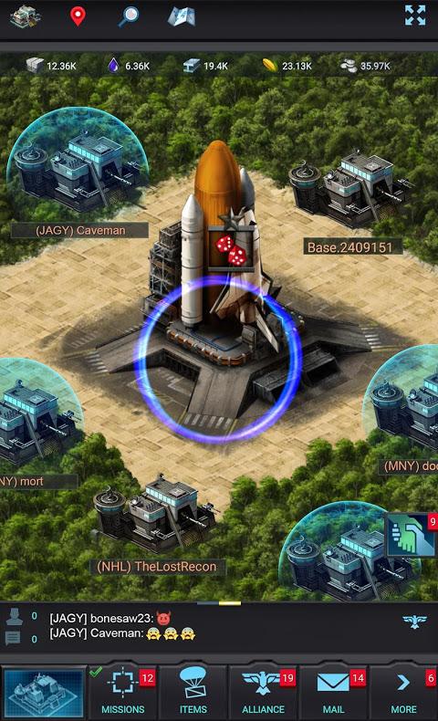 Mobile Strike screenshot 1