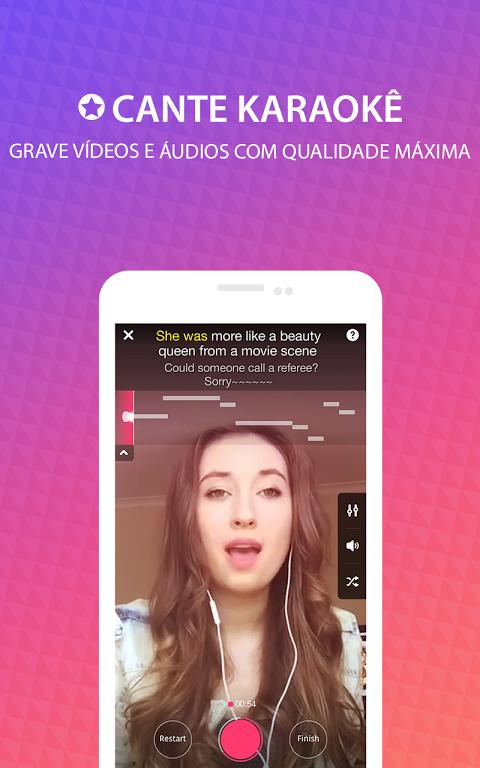 StarMaker - cante karaokê screenshot 1