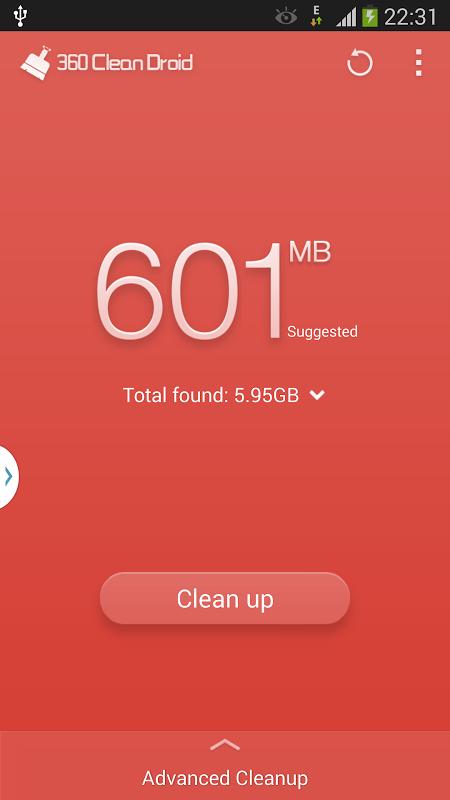 360 Clean Droid screenshot 1