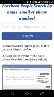 Facebook People Search 2 5 Download APK for Android - Aptoide