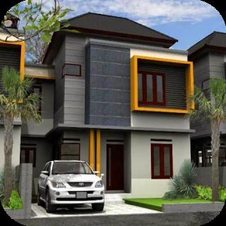 download gambar rumah minimalis 2 lantai