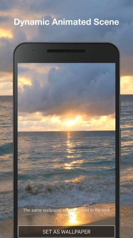 Sonnenuntergang Strand Animierte Hintergrundbilder 1 1 Laden Sie Apk