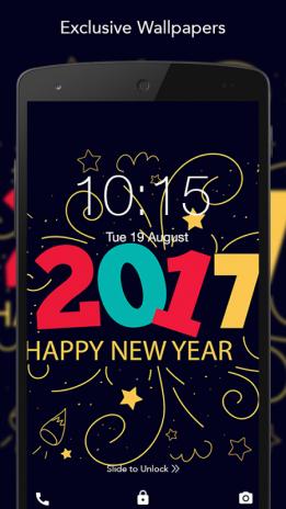 Happy New Year 2017 Wallpaper 10 Télécharger Lapk Pour Android