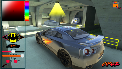 GT-R R35 Drift Simulator screenshot 3