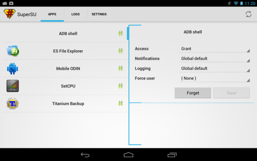 SuperSU Pro screenshot 4