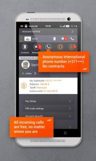Secure messenger SafeUM screenshot 4