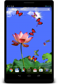 Butterfly 2 live wallpaper screenshot 4