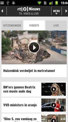 RTL Nieuws Screenshot