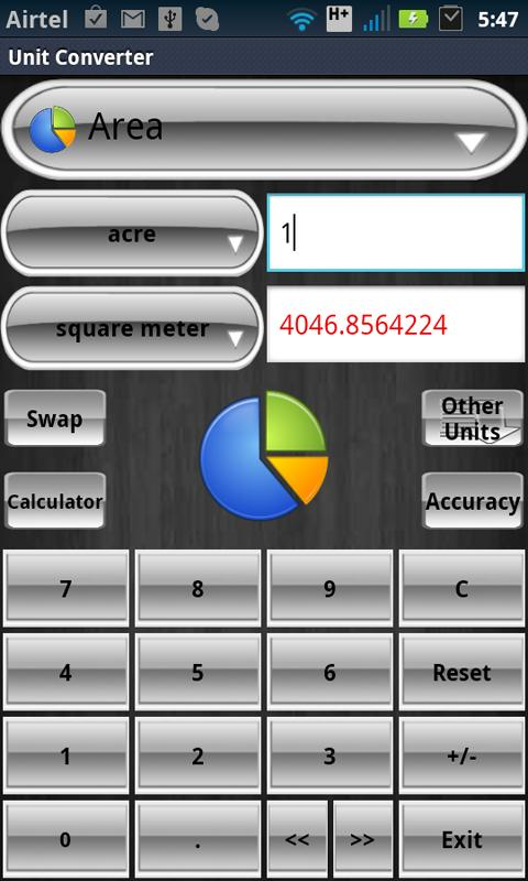Unit Converter screenshot 1
