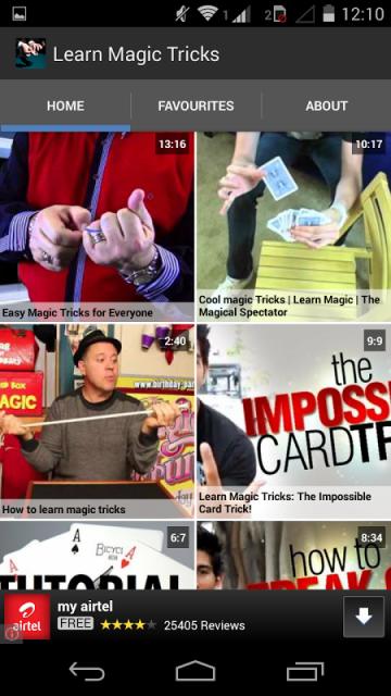 Free Magic Lessons and Free Magic Tricks | MagicTricks.com