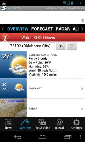 KOCO 5 News and Weather 4 8 45 Descargar APK para Android - Aptoide