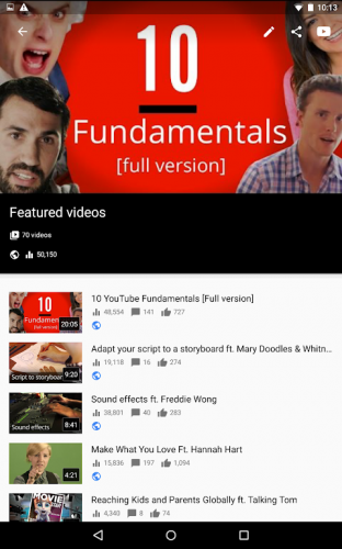 YouTubeStudio screenshot 15
