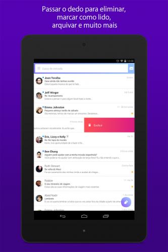 Yahoo Mail - Organize-se screenshot 9