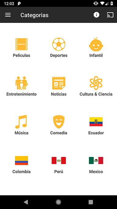 Mitele - Televisión latina (Oficial) screenshot 2