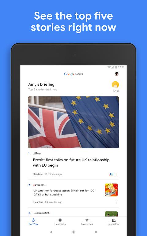 Google Play Newsstand screenshot 9